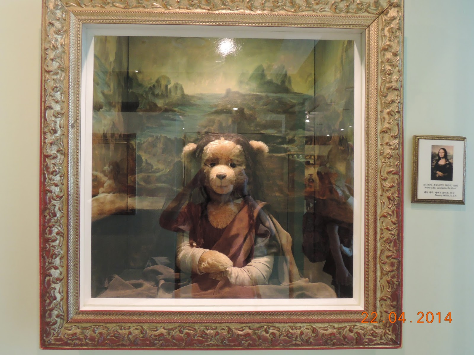 Mona Lisa, Teddy Bear Museum, Jeju