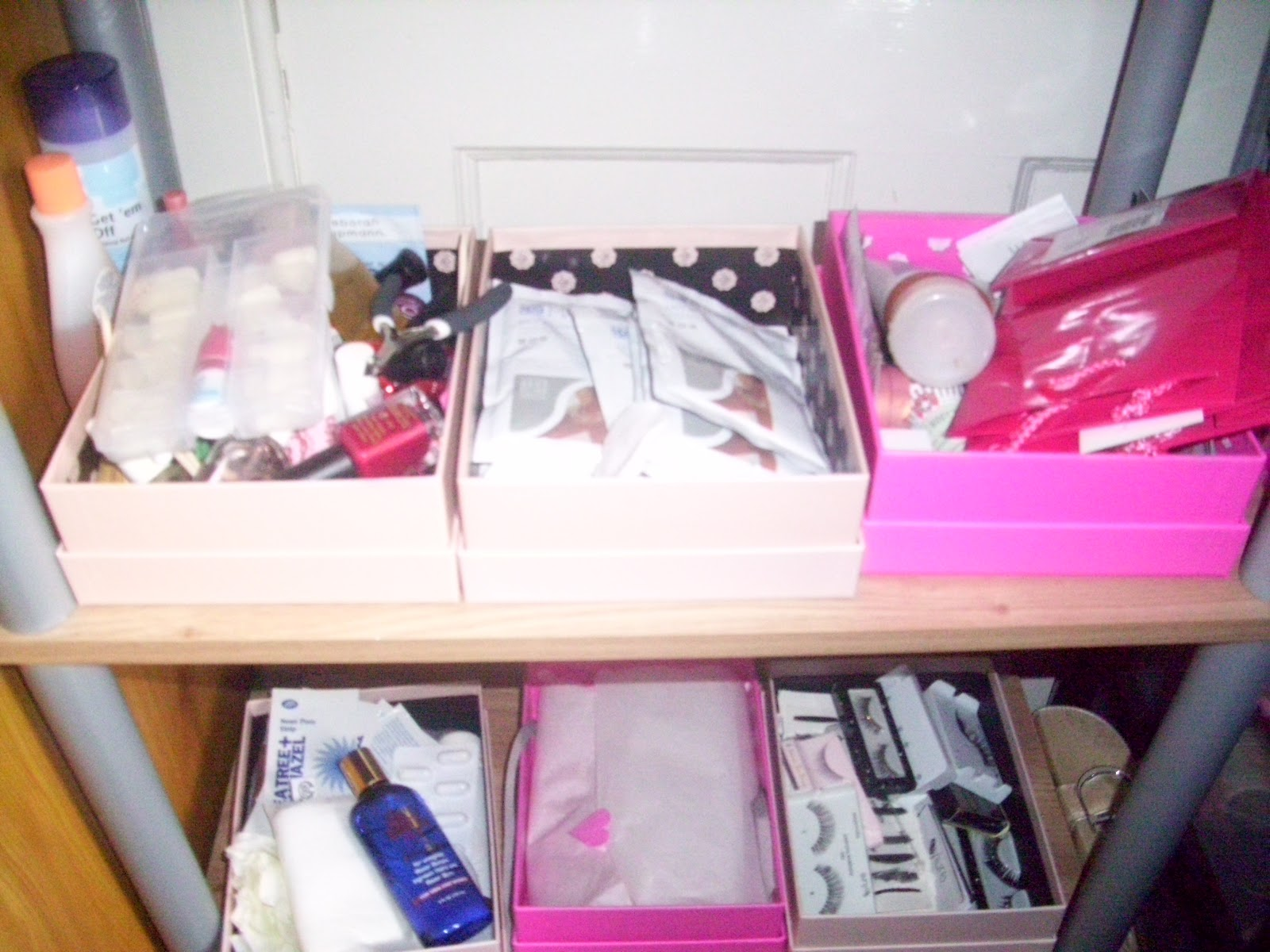 Life love and a beauty obsession how i reuse my glossy boxes for Reuse shoe box ideas