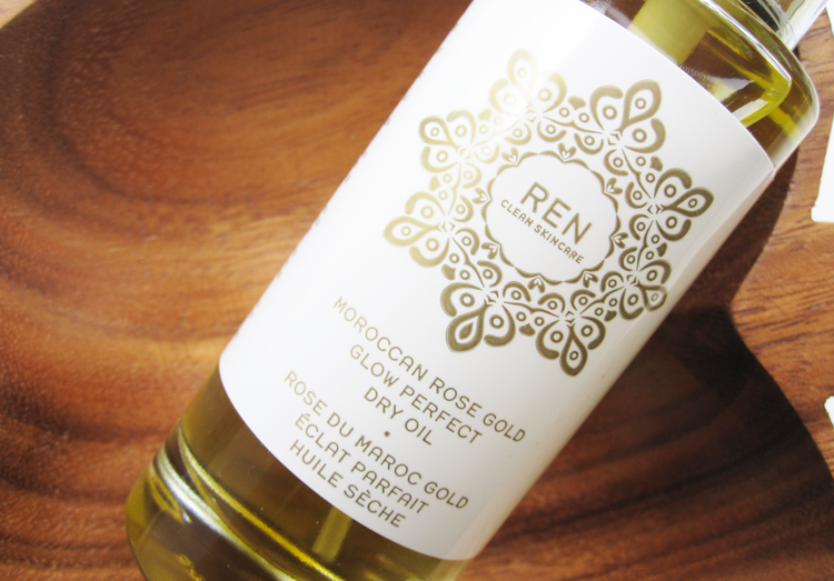 REN Moroccan Rose Gold Glow Perfect Dry Oil review
