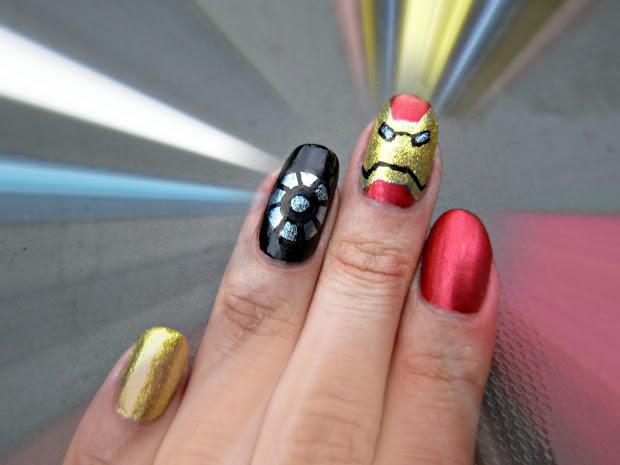 concrete and nail polish iron