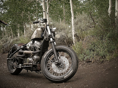 My hard-tail custom sportster bobber