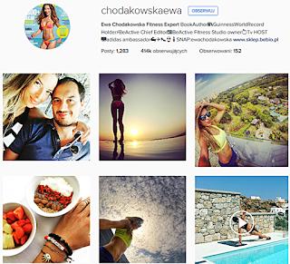 fitness, ewa chodakowska, sport, trenerka, trenerka wszystkich polek, instagram
