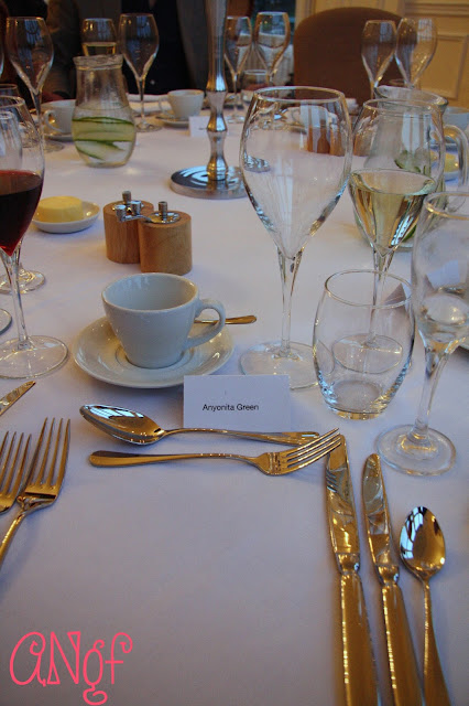 Luxurious silver place setting for dinner at Clevedon Hall | Anyonita Nibbles Gluten Free