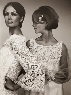 vintage wedding dresses by John Baron, on heavenlyvintagebrides.blogspot.co.uk
