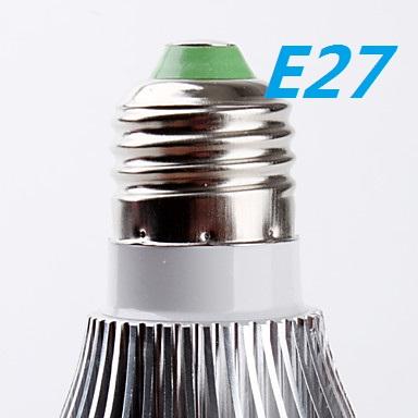 Faretto lampada led 7 watt e27 pera 7w luce fredda e luce for Luce di pera