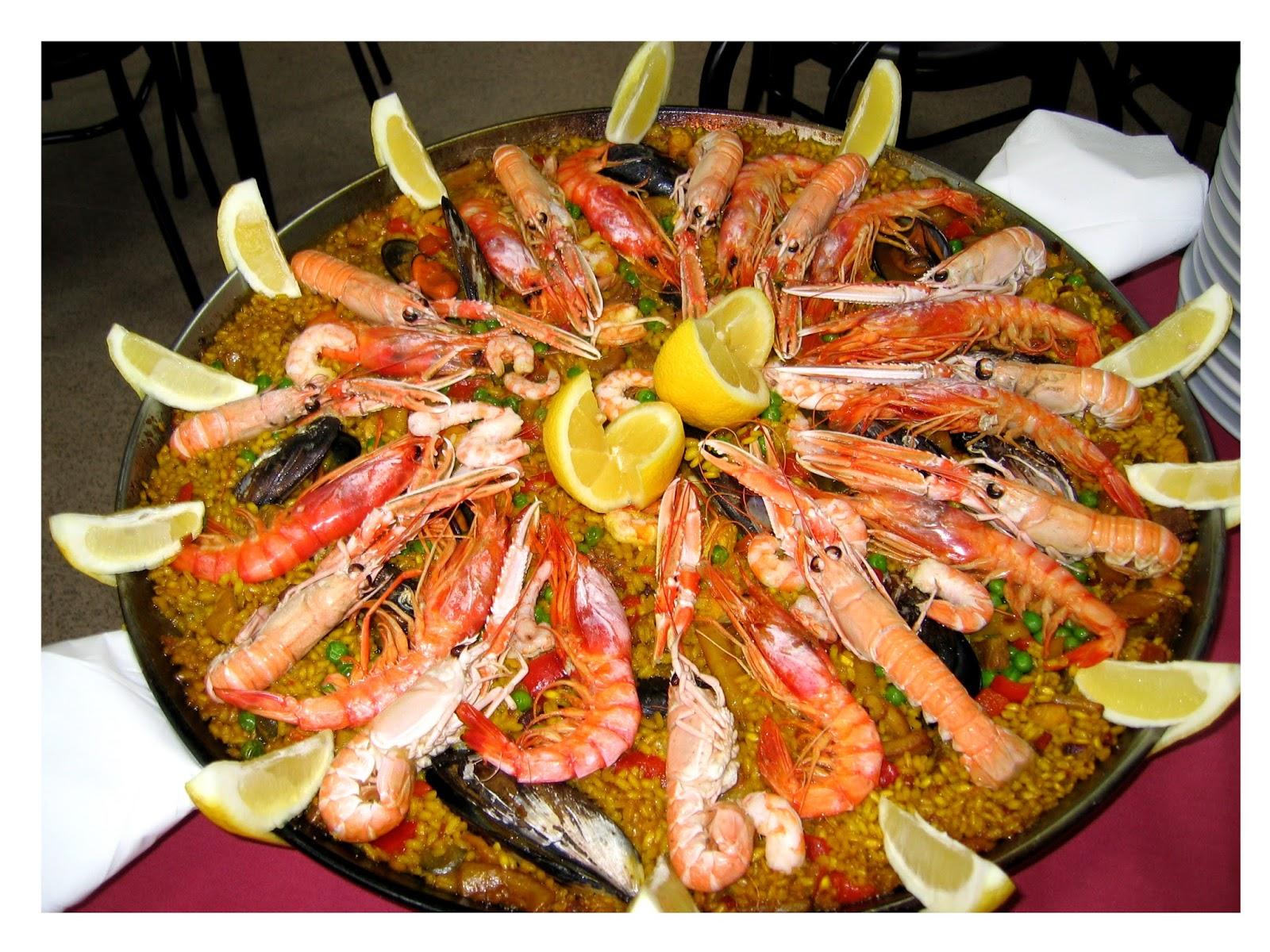 Recetas de cocina saludables y fáciles: Paella de marisco