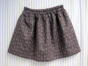Nem pige nederdel