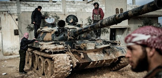 Photo of Free Syrian Army troops