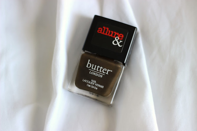 butter LONDON x Allure Nail Lacquer in Lust or Must?