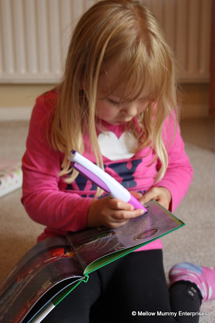 Learning to read with the Leapfrog LeapReader