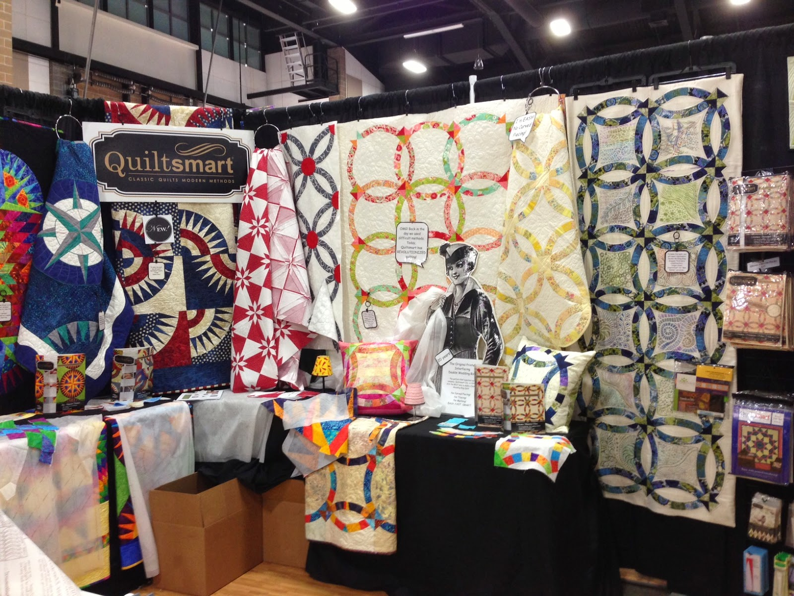 Quiltsmart Trade Show Booth