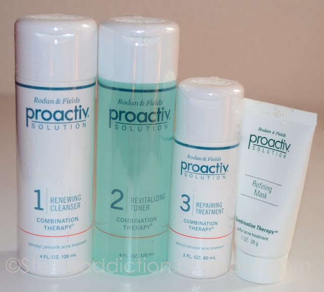 Acne adults proactive for