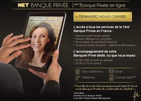 BNP Paribas - Net Banque Privée
