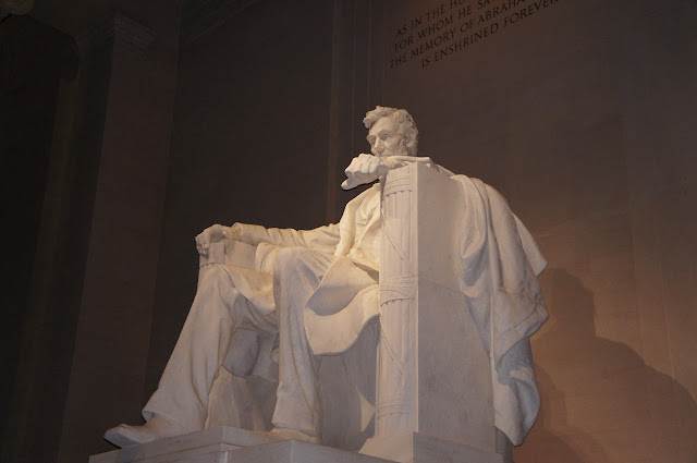 picture of US President Abraham Lincoln memorial