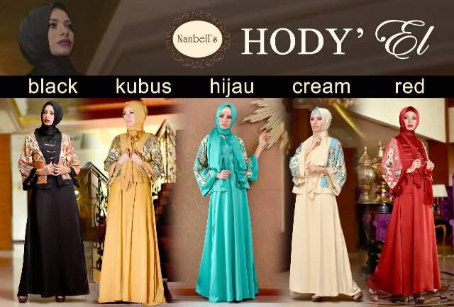 Baju Muslimah Hody 39 El By Nanbells