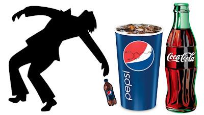 Coca Cola e Pepsi contêm álcool revelou estudo