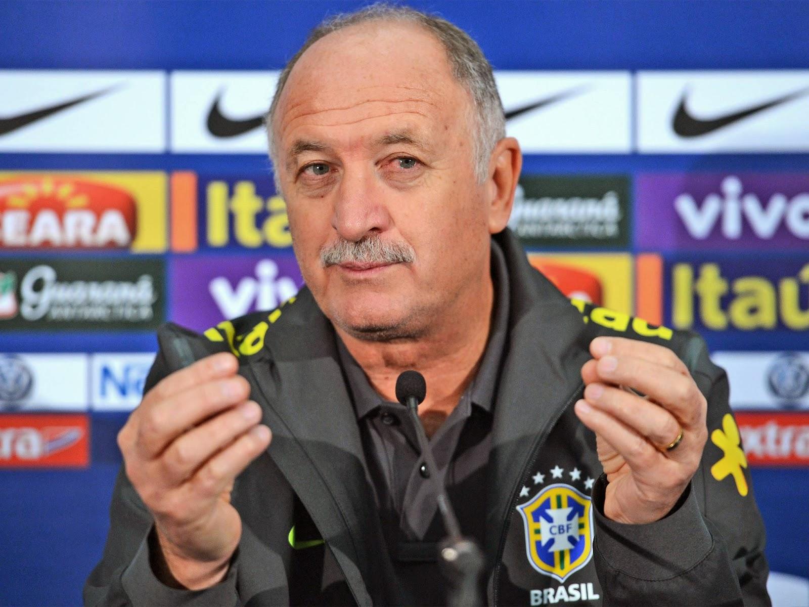 Brazil Coach Filipe Scolari Resigns