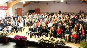 """Championnat du Finistère (le public, lors du spectacle donné par """"Estrelas do Minho"""""""