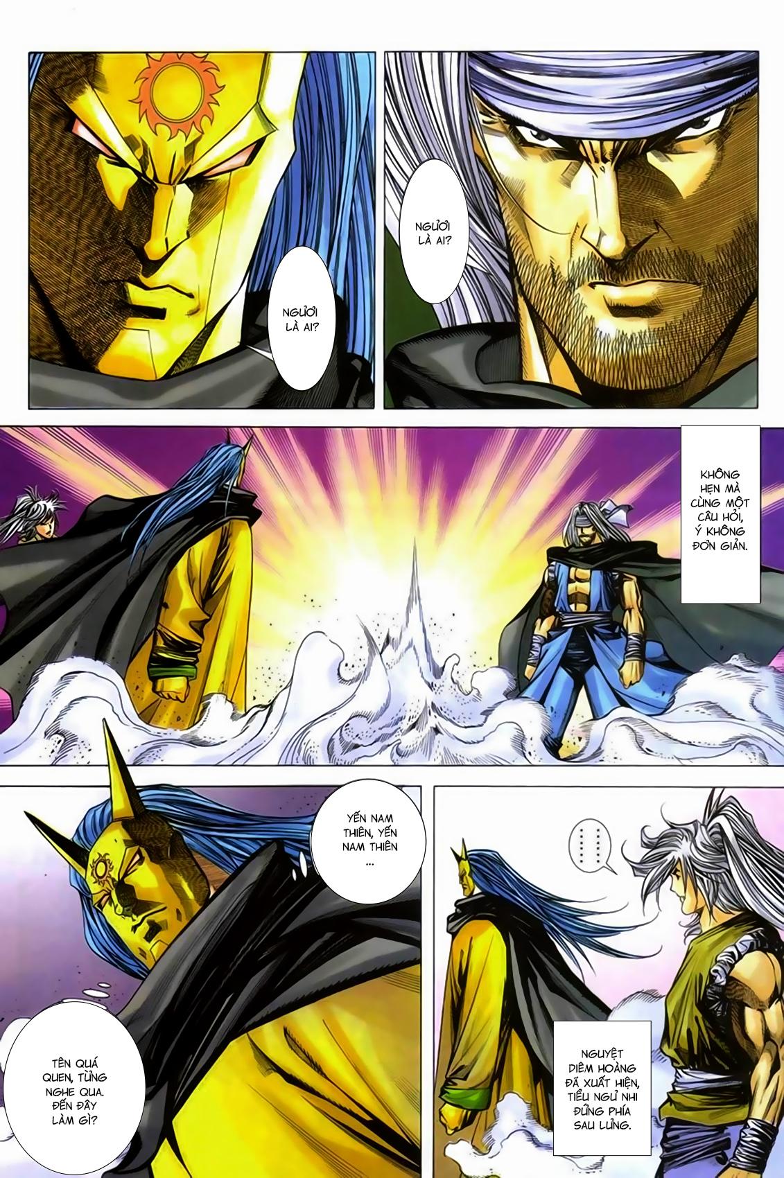 Song Hùng Kỳ Hiệp Chap 277 - Trang 9