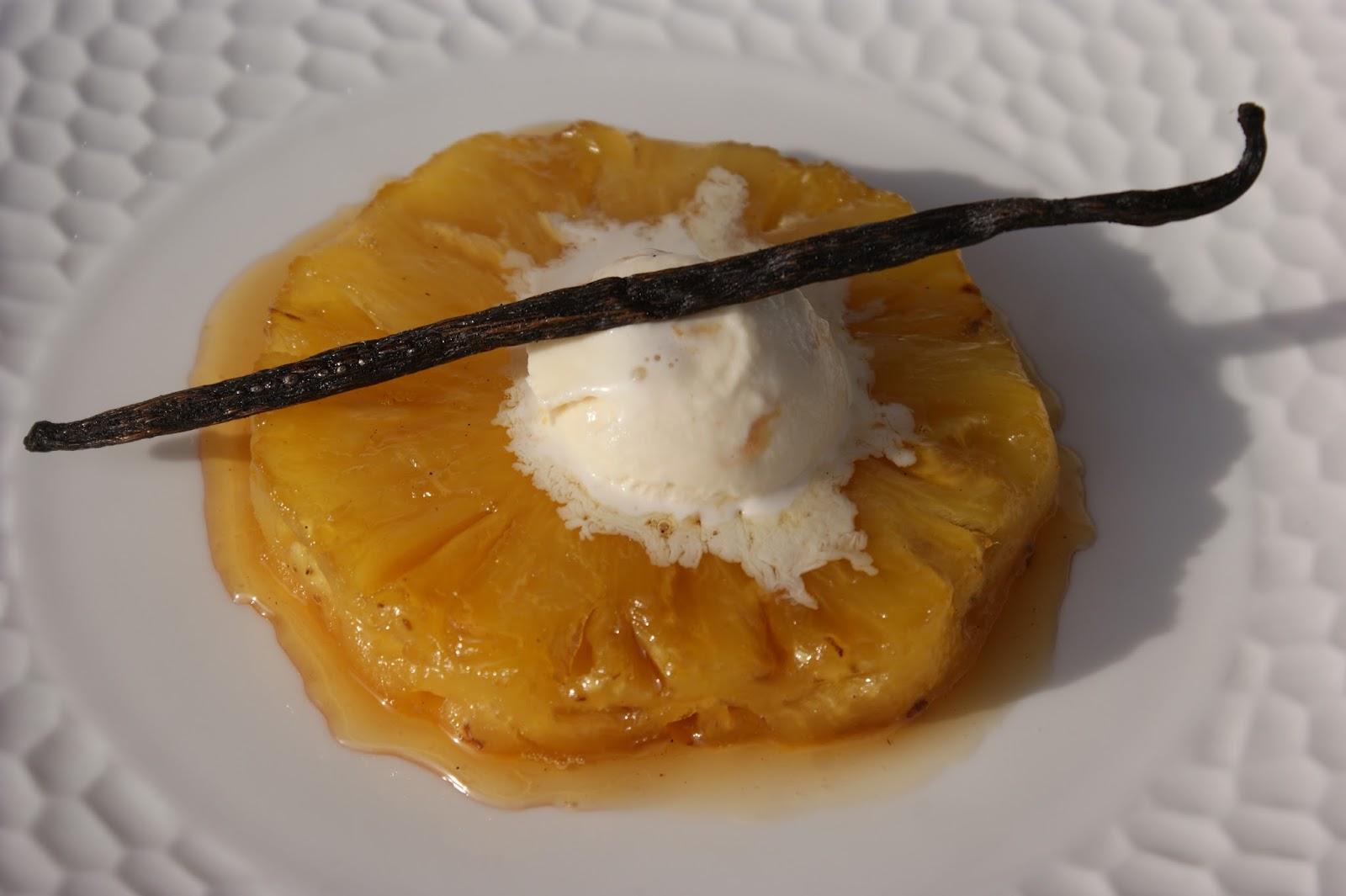 Afternoon tea en attendant no l ananas r ti la vanille for Chambre 13 vanille et citron
