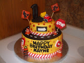 Chuck the Talking truck cake