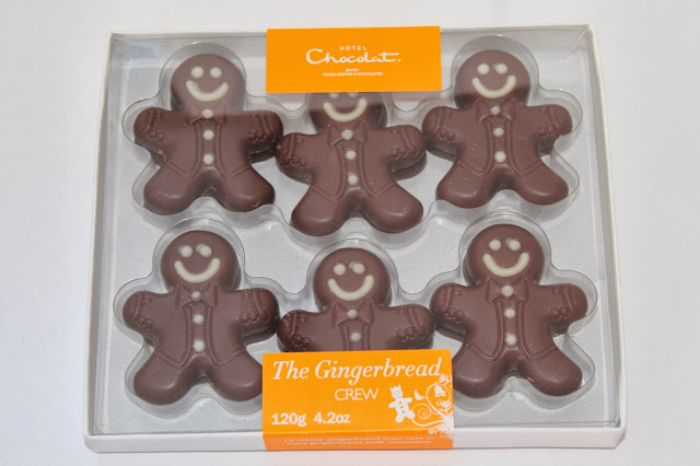 Gingerbread Man Presents Hotel Chocolat
