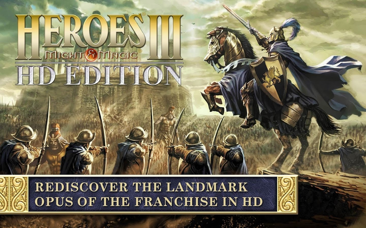 Heroes of Might & Magic III HD Apk Obb