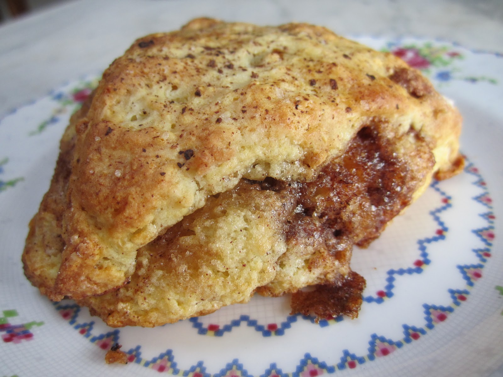 The Irish Mother: Cinnamon Swirl Scones