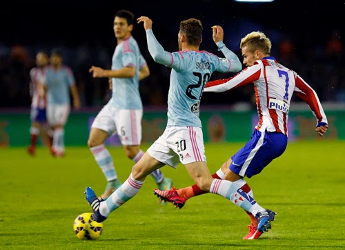 Celta de Vigo vs. Atletico Madrid 2-0 Highlight Goal Liga BBVA 15-02-2015