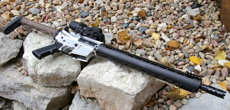 ap custom ar15 carbon fiber handguard review