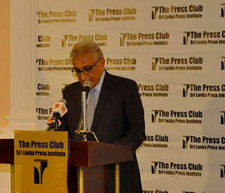 Address by Jacob Mathew at SLPI Press Club 20 Nov 2012