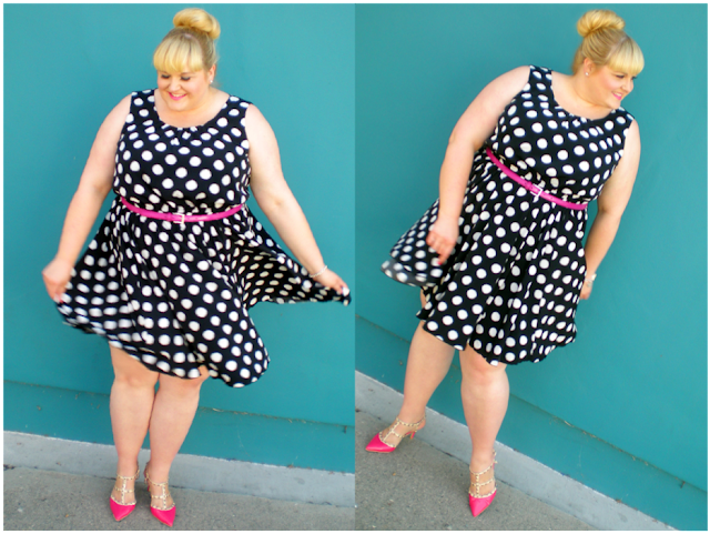 plus size a-line dress from Gwynnie Bee