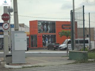 Loja Container no Triângulo.