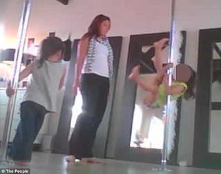 pole dance kanak-kanak