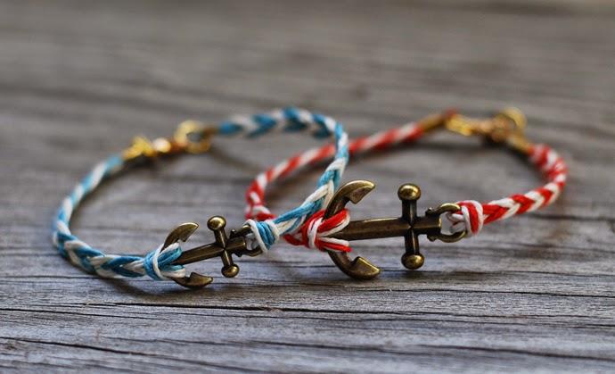 Своими руками браслеты в морском стиле
