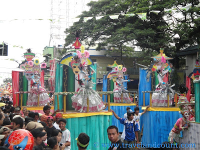 Bacolod Masskara Floats on Parade