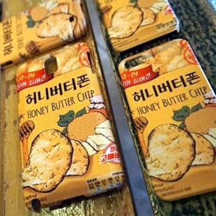 Fundas para móvil con el diseño de las patatillas con miel y mantequilla