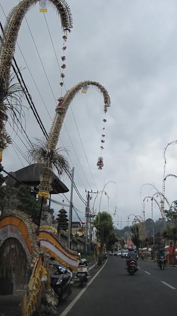 Carretera en Bali