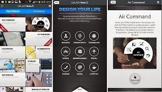 aplikasi Galaxy Note 3 Experience