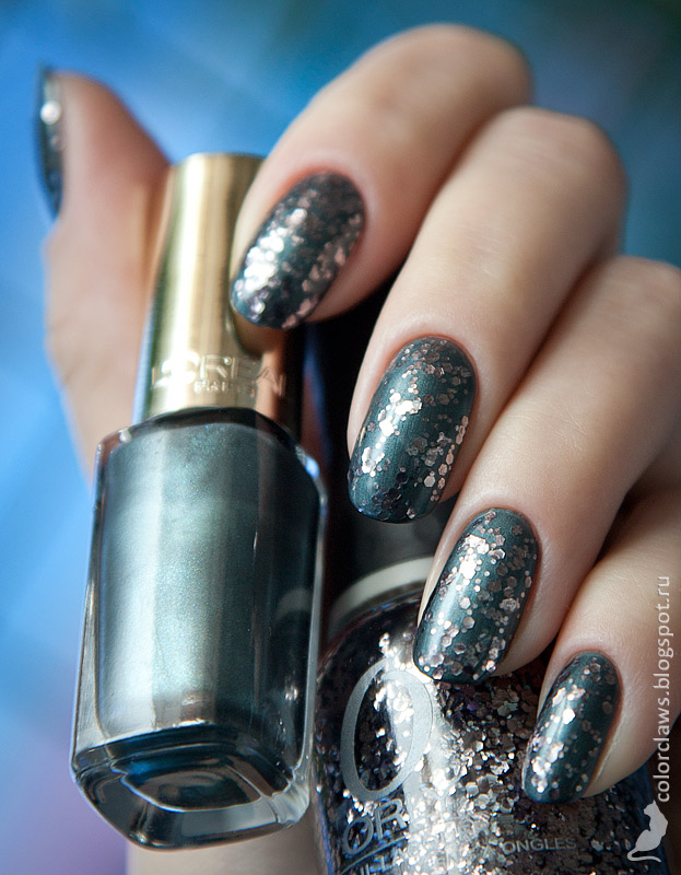 L'Oreal Color Riche #608 Luxembourg Garden + Orly Atomic Splash