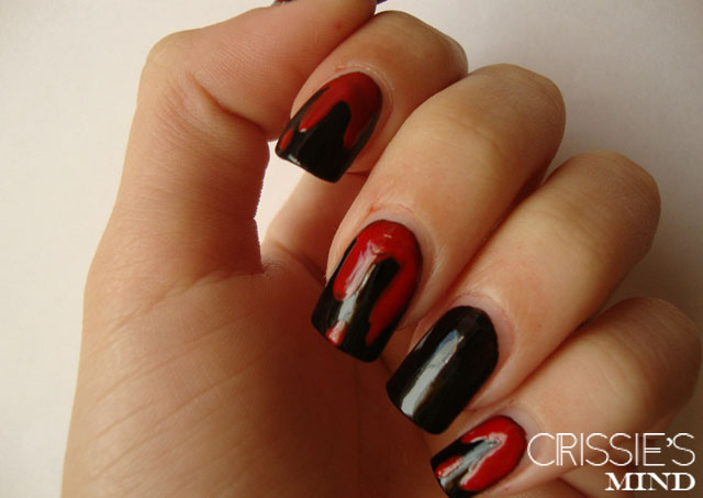 Vampires and Blood Nail Tutorial