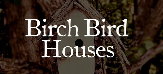 Birch Bird Houses