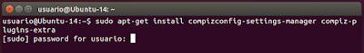 sudo apt-get install compizconfig-settings-manager compiz-plugins-extra