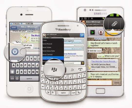 Whatsapp tricks to send location