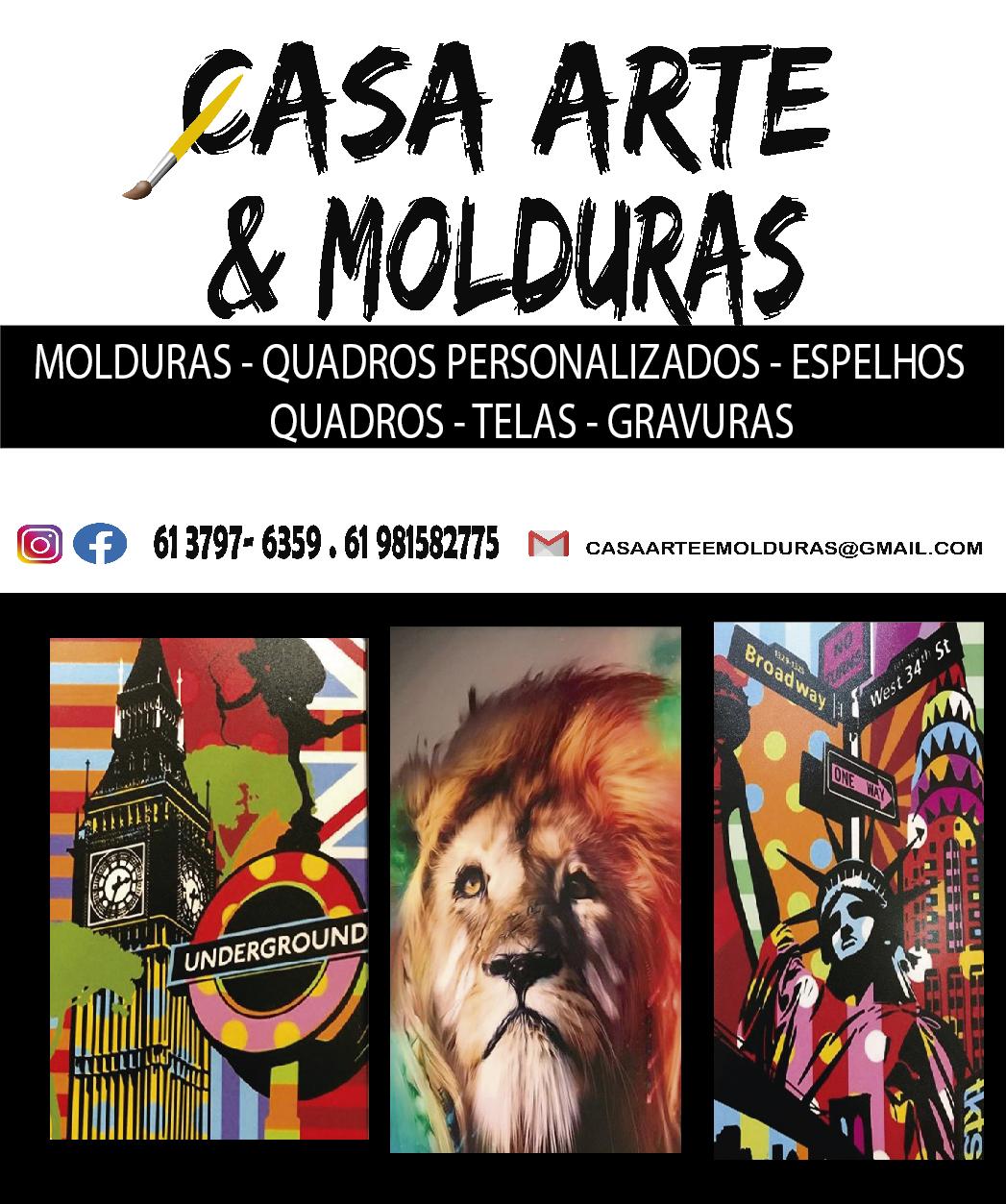 CASA DAS ARTES E MOLDURAS