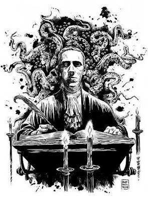 Lovecraft, ritratto di Francesco Francavilla