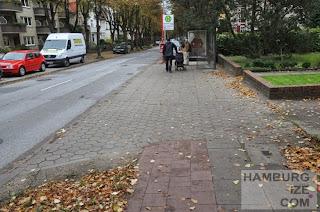 "Heimfelder Straße - Fake-""Radweg"""