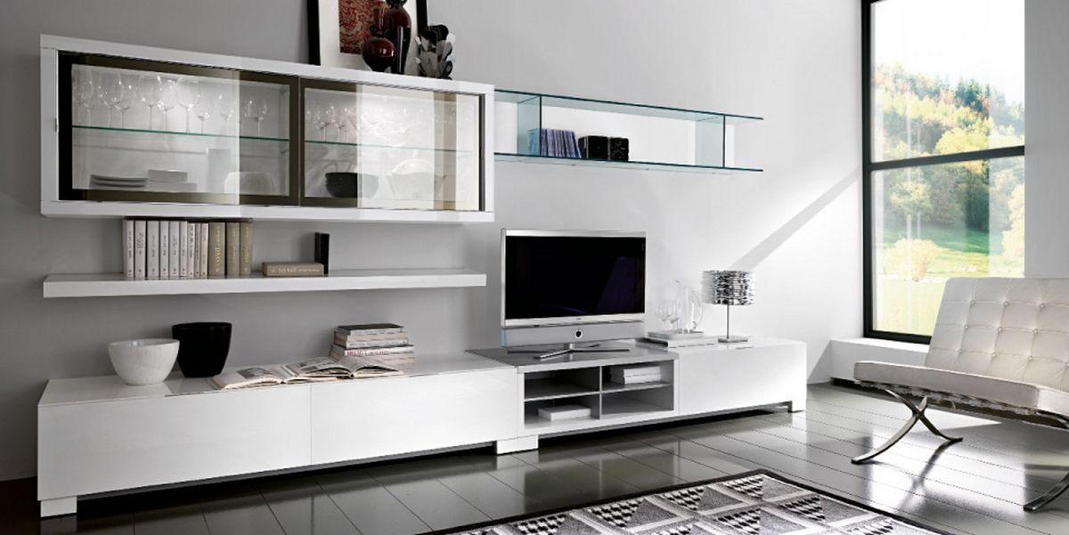 Design Modern Living Room Design With Minimalist Furniture And TV