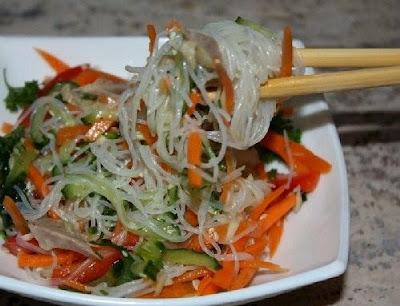 """Корейский салат """"Фунчеза"""" - пошаговый рецепт"""
