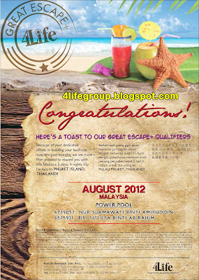 The Great Escape+ Winners August 2012